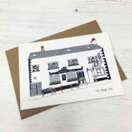 Flax Fox 'The Plough Inn' Card